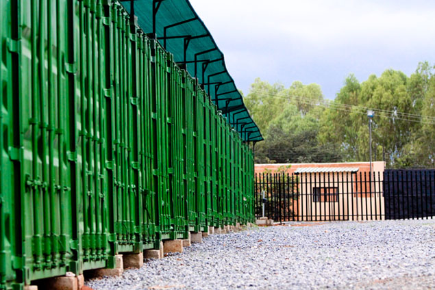 Secure Self Storage in Zambia : green storage containers  - Aquiesqueretaro.Com