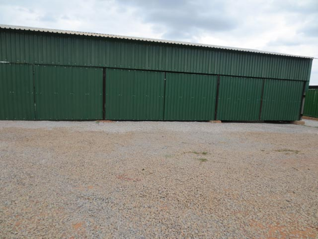Outside view of Vehicle Storage Garage